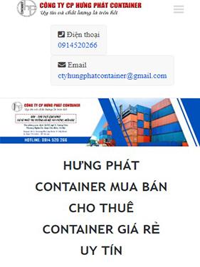 SEO: SEO bộ từ khóa cho Hưng Phát Container 2
