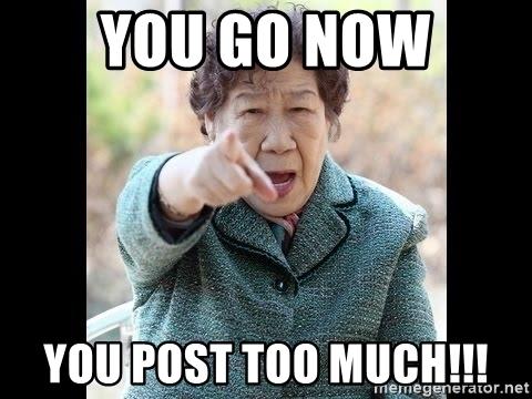 Quá nhiều bài post trên Facebook